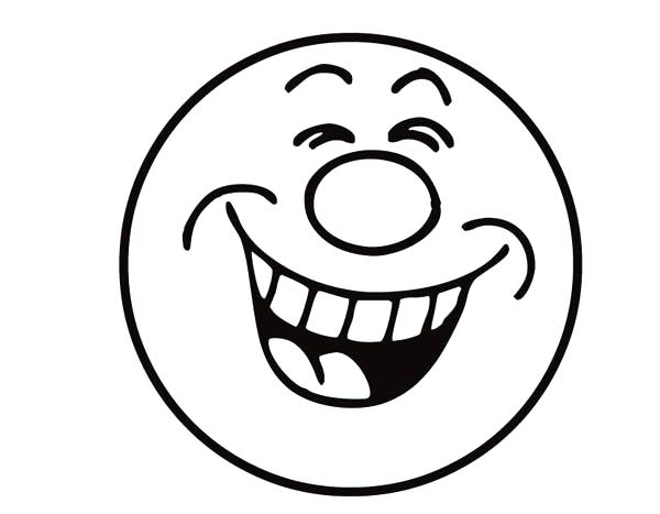 600x467 Emoji Faces Coloring Pages Plus Emoji Coloring Pages Laughing