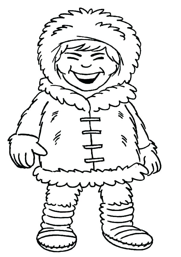 600x854 Eskimo Coloring Page Introducing Coloring Page Girl Laughing Out