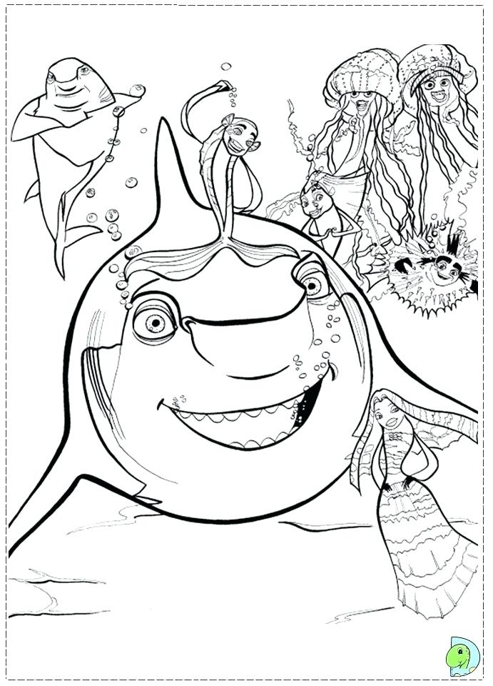 691x960 Shark Boy Lava Girl Coloring Pages Online Coloring Page Zone