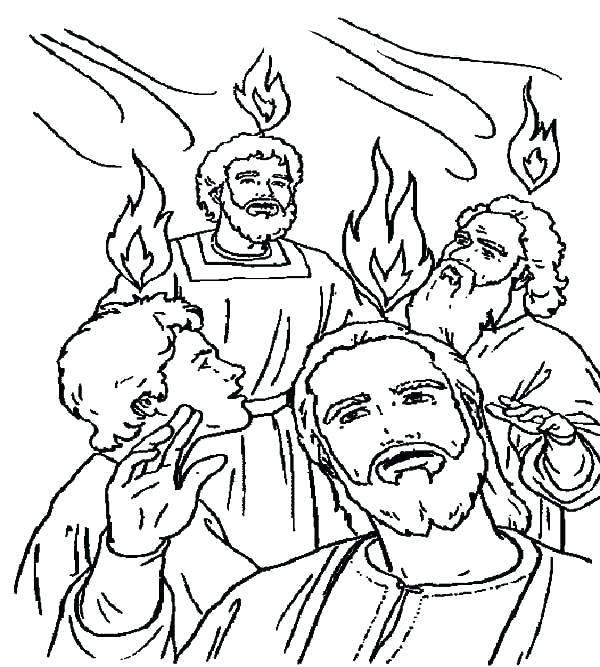 600x667 Pentecost Coloring Pages Coloring Page Celebrate Giving