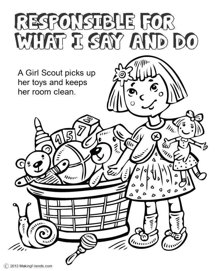 750x943 Scout Coloring Pages Girl Scout Coloring Sheets Best Gs Coloring