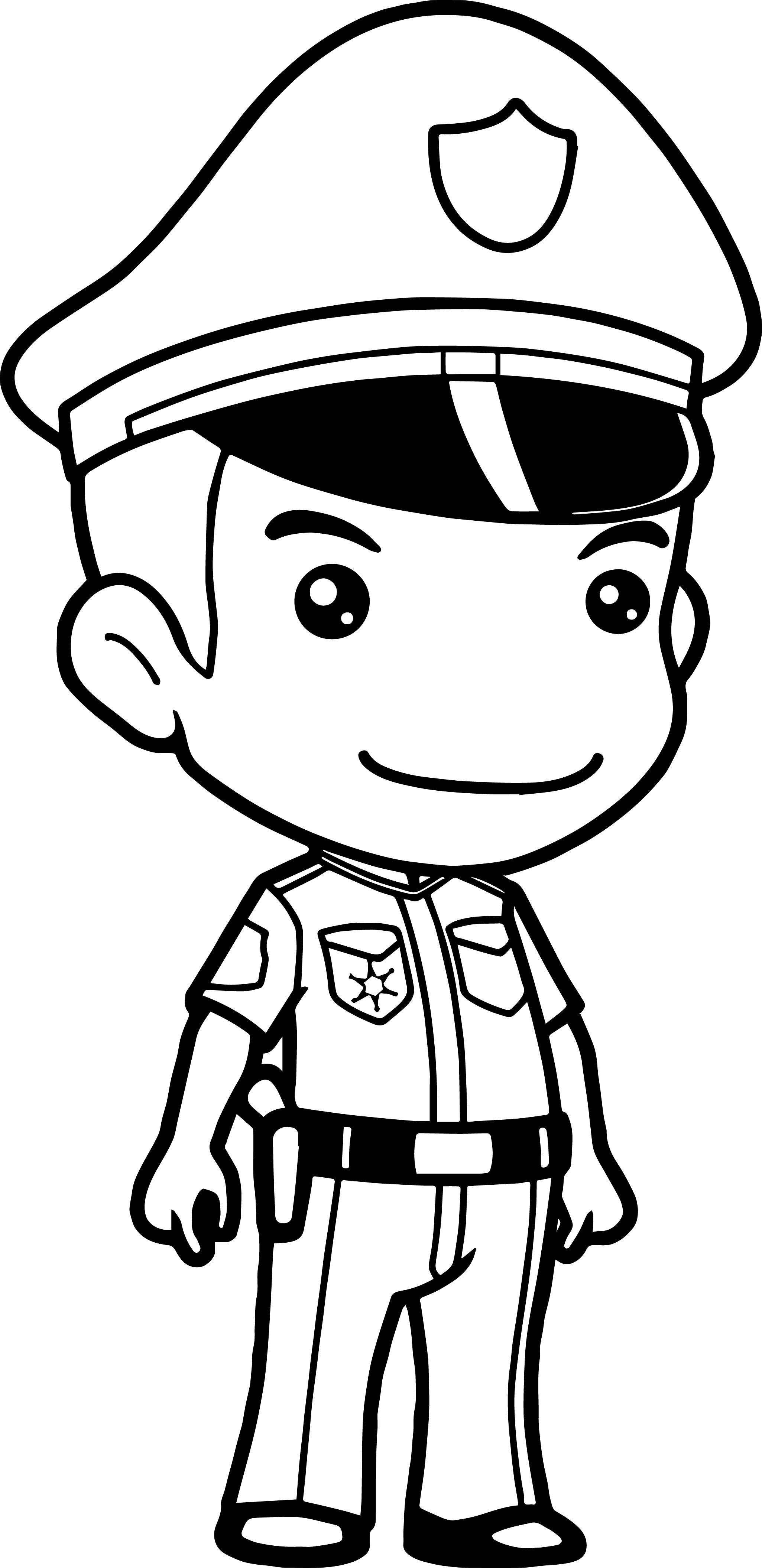 2051x4222 Marvelous Police Officer Coloring Pages Printable To Fancy Free