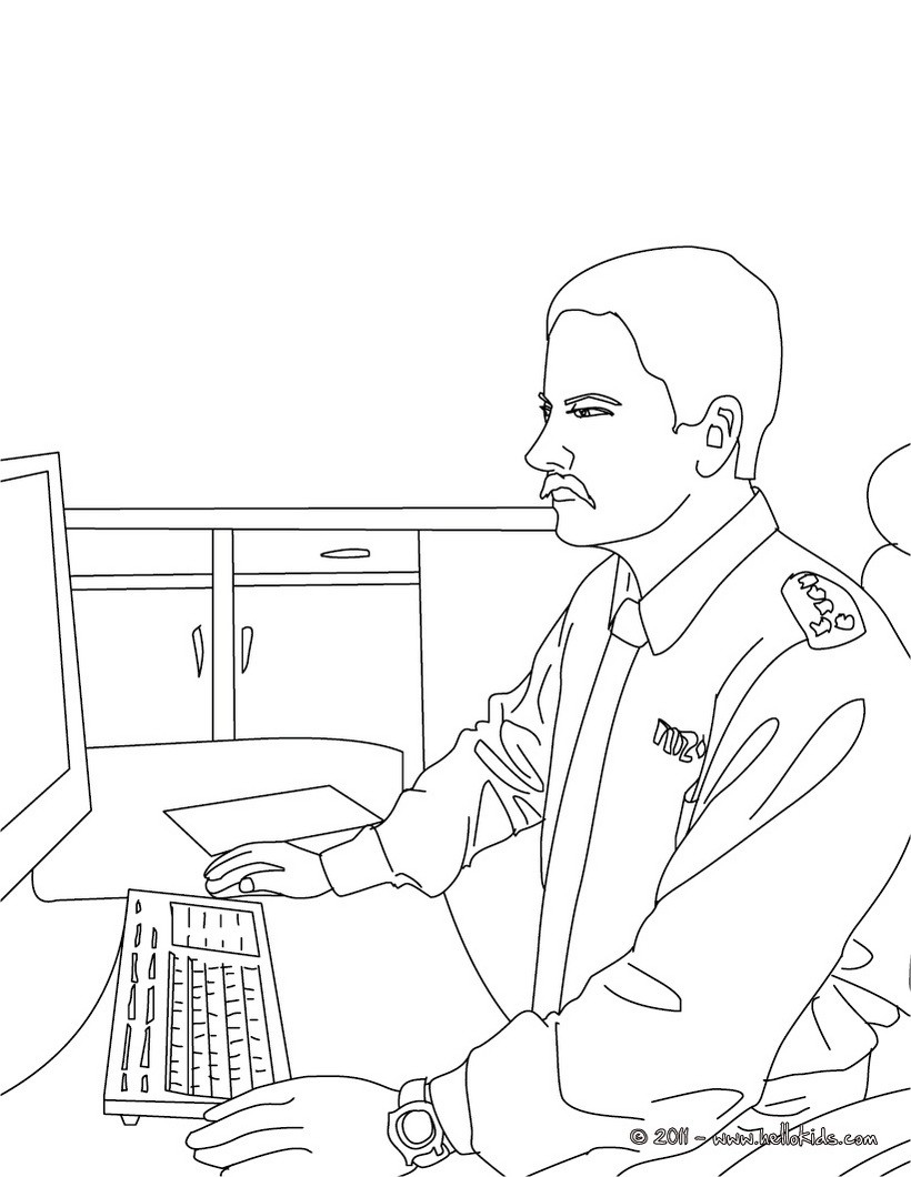 820x1060 New Police Coloring Pages Kids Information And Ideas