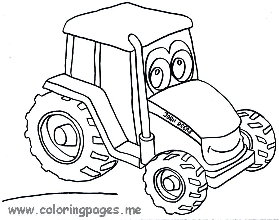 900x709 John Deere Tractor Coloring Pages To Print Johnny Lawn Mower Free