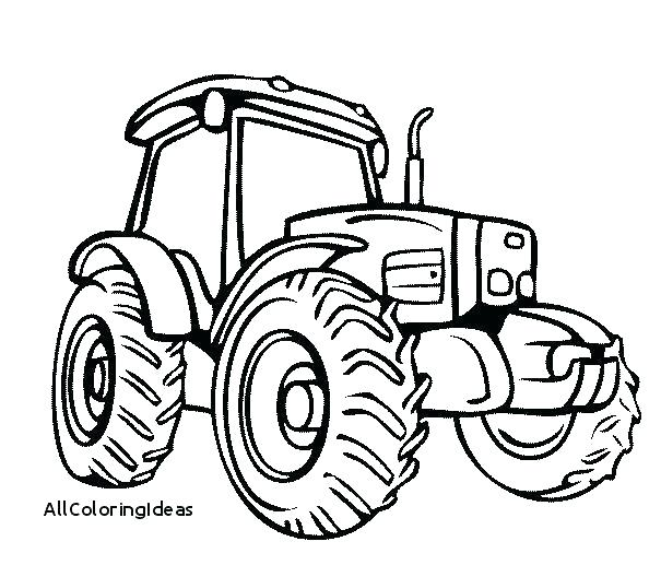 605x517 Tractor Coloring Page John Coloring Pages John Lawn Mower Coloring