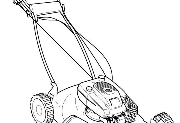 620x425 Lawn Mower Coloring Page Coloring Page Lawn Mower Img