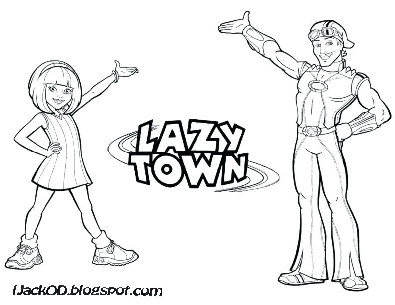 792x612 Lazy Town Coloring Lazy Town Coloring Pages New Lazy Town