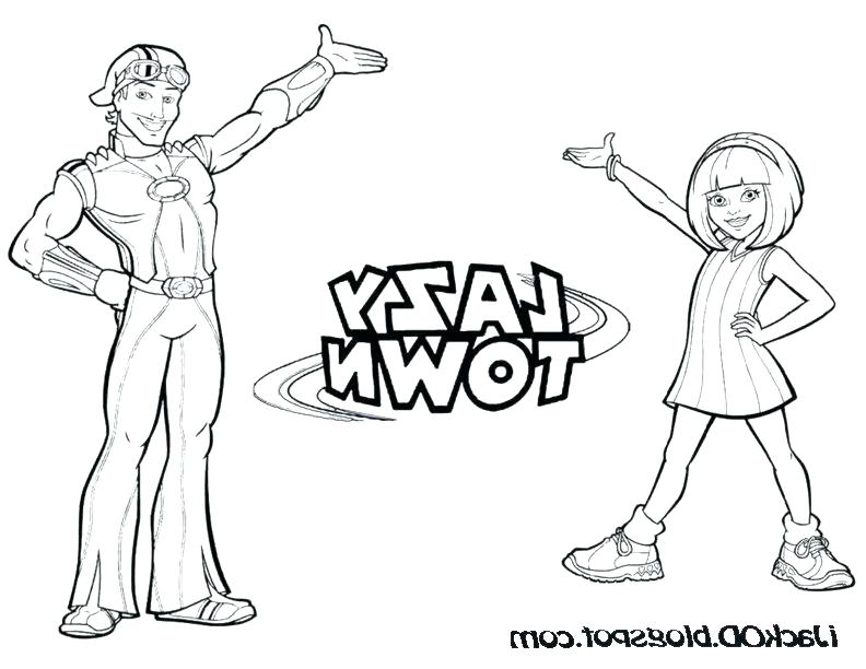 792x612 Lazy Town Coloring Pages Lazy Town Coloring Pages Free Coloring