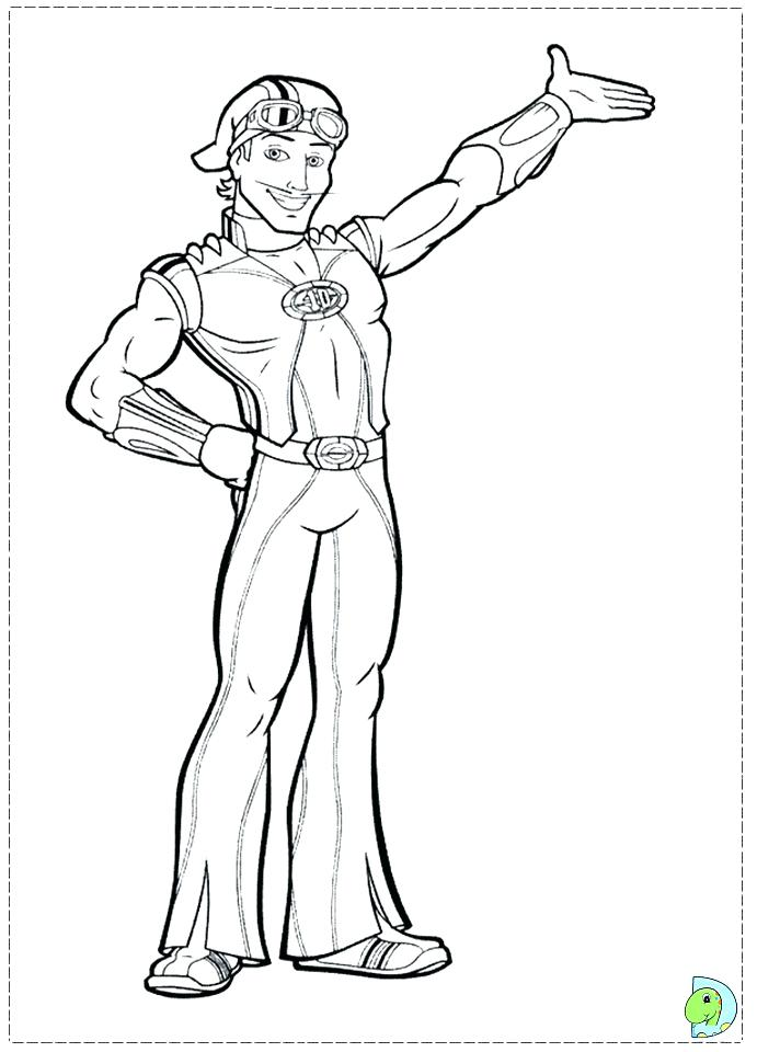 691x960 Lazy Town Coloring Pages Lazy Town Coloring Pages Lazy Town