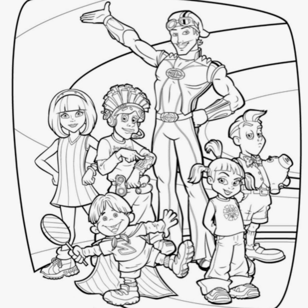 1024x1024 Coloring Games Lazy Town Lovely Lazy Town Coloring Pages