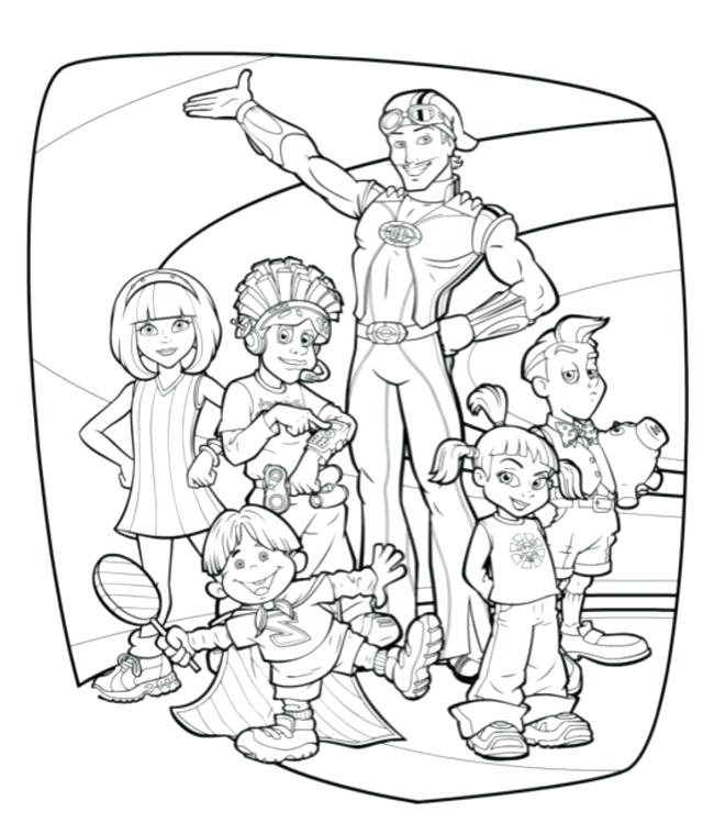 640x759 Lazy Town Coloring Pages Lazy Town Para Coloring Pages Stephanie