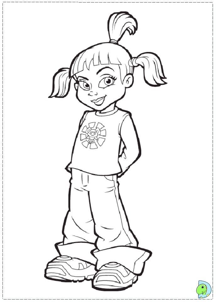 691x960 Lazy Town Printable Coloring Pages