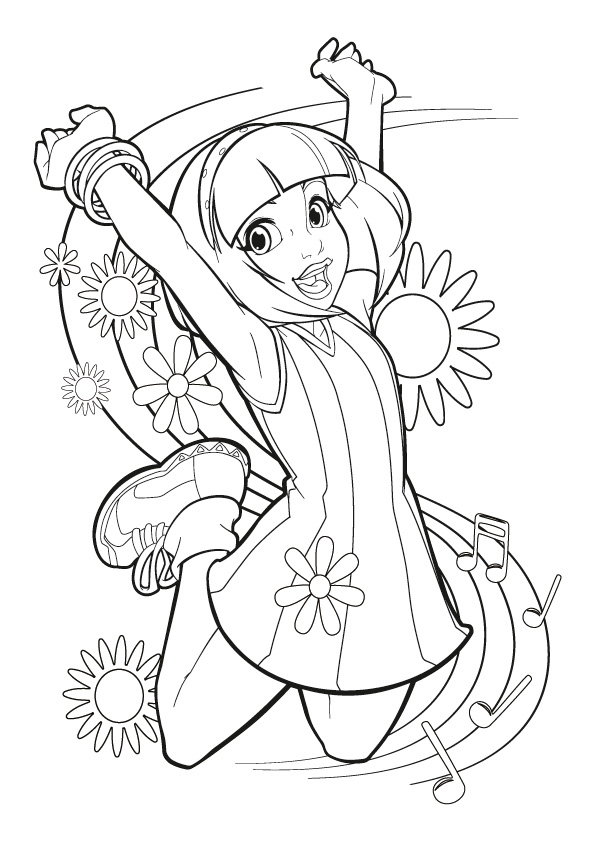 595x842 Lazy Town Coloring Pages To Download And Print For Free