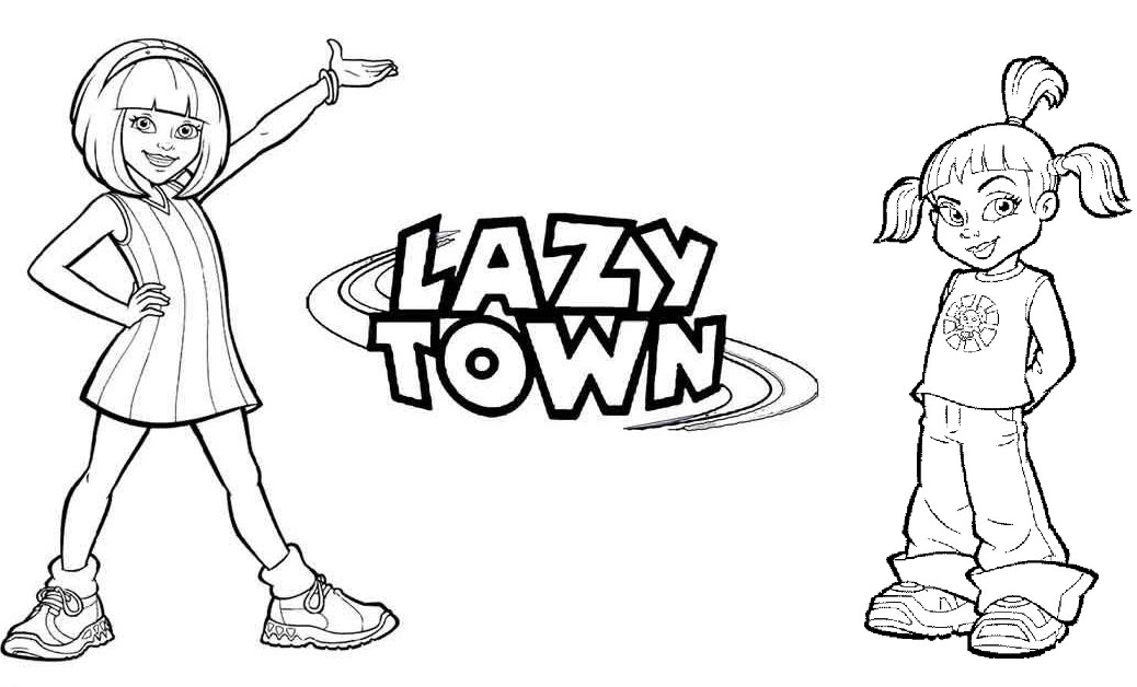 1038x628 Lazytown Coloring Pages To Get Your Kids Learn A Healthy Lifestyle