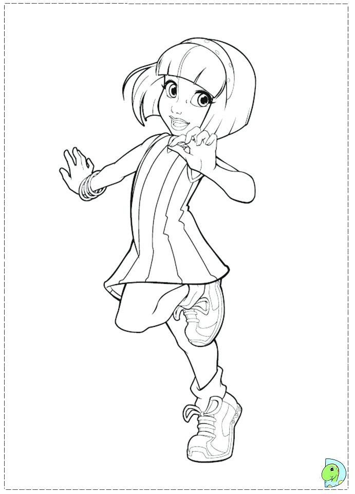 691x960 Lazy Town Coloring Lazy Town Coloring Page