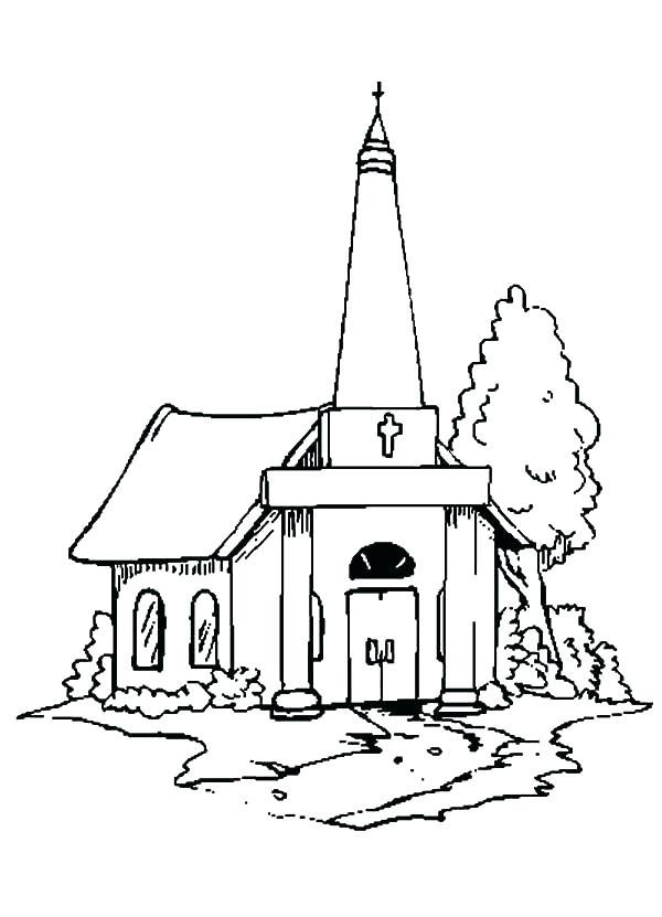 600x831 Lds Church Building Coloring Page Pages Seven Sacraments Sheets