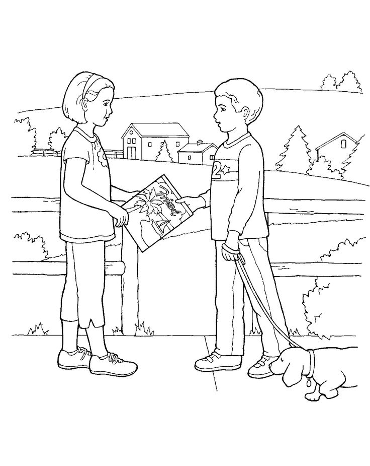 736x925 Lds Missionary Coloring Page Educational Coloring Pages