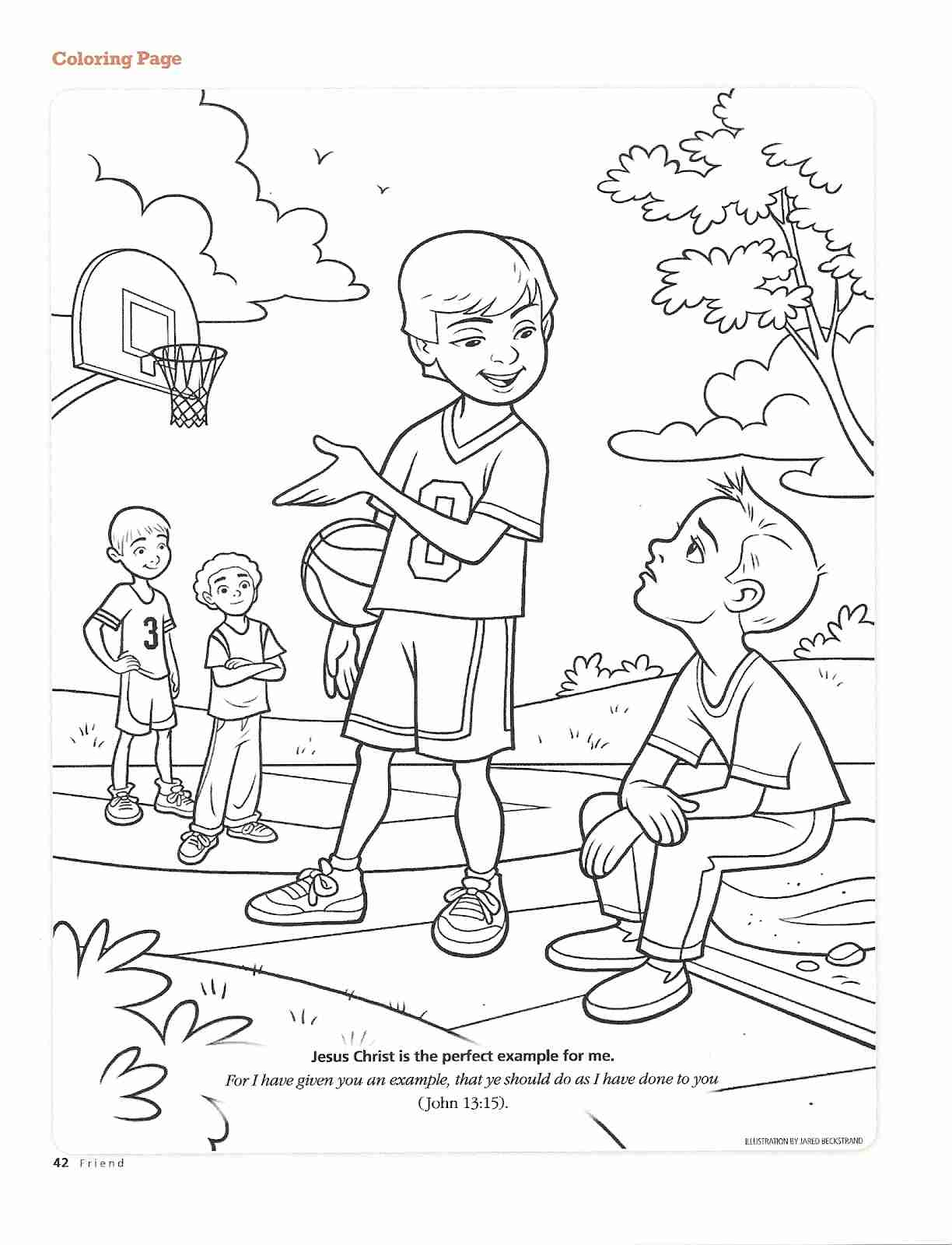1224x1600 Useful Lds Org Coloring Pages A Family Reading Together Children S