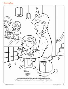 236x306 Baptism {visit Teach And Lds Prints} Primary