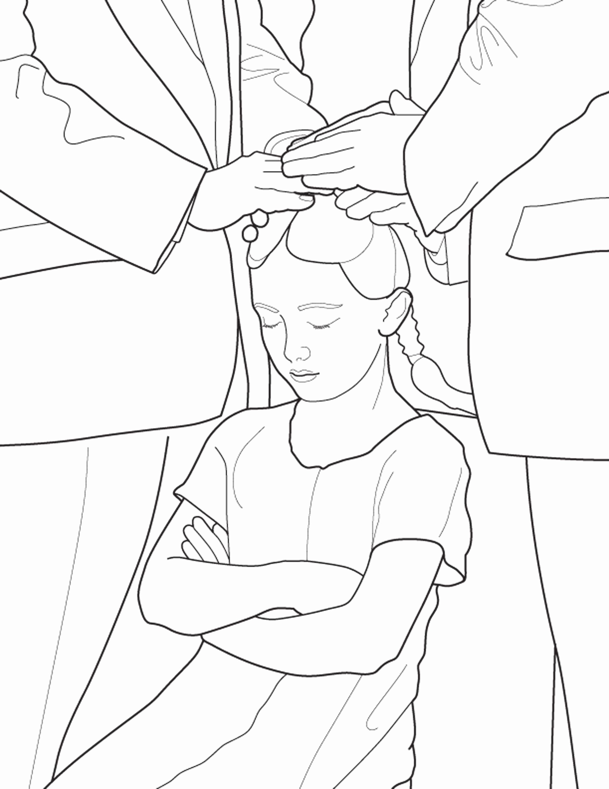 1236x1600 Church Coloring Pages Luxury A Primary Coloring Page From The Lds