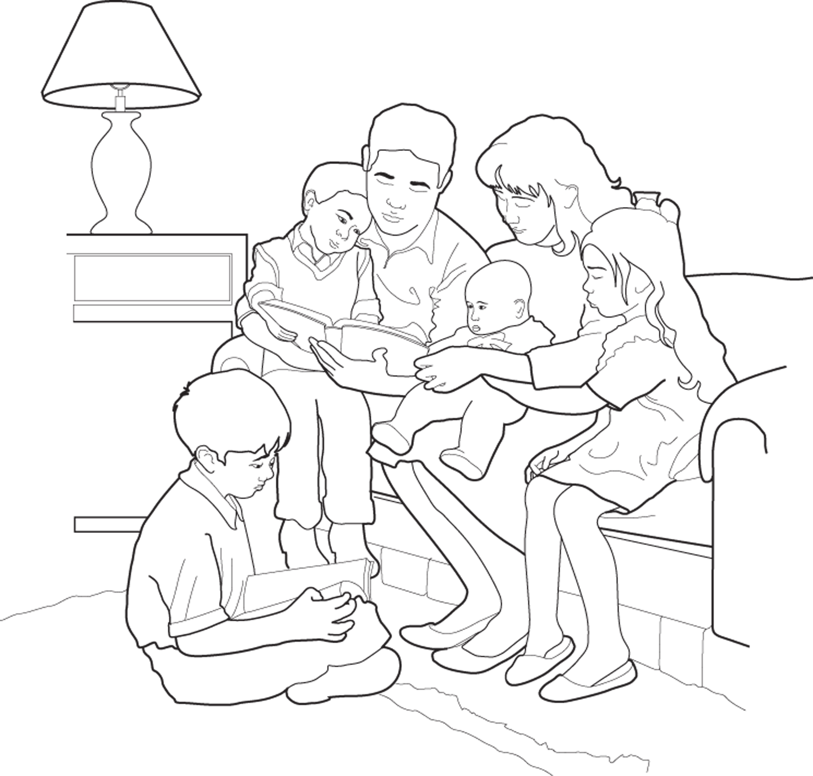 1677x1600 Family Home Evening Amazing Lds Org Coloring Pages Stuning