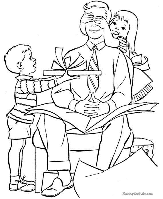 570x698 Happy Fathers Day Coloring Pages For The Holiday