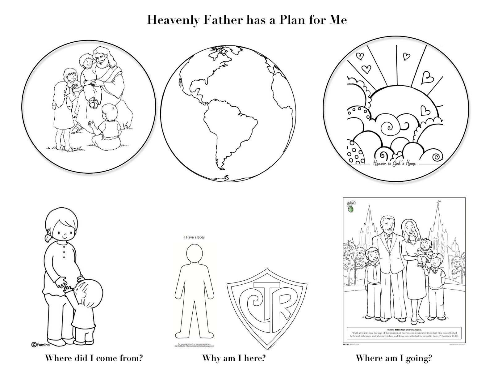 1600x1236 Lds Coloring Pages For Sunbeams