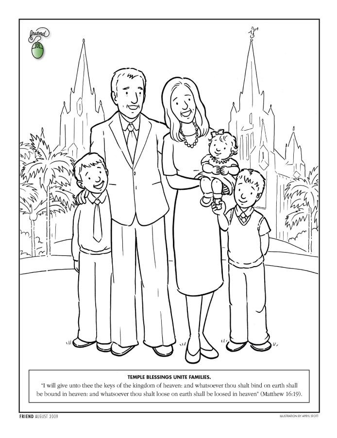694x902 Temple Coloring Page Lds Lesson Ideas