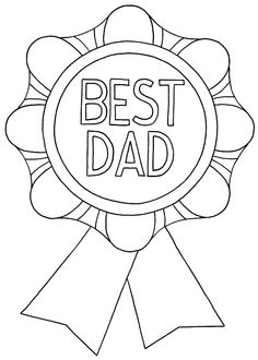 236x330 Father's Day Card Burst Coloring Page Worksheets, Free And Father