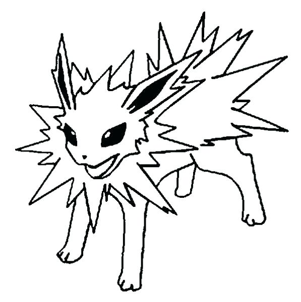 597x600 Leafeon Coloring Pages Coloring Pages Coloring Pages Evolution