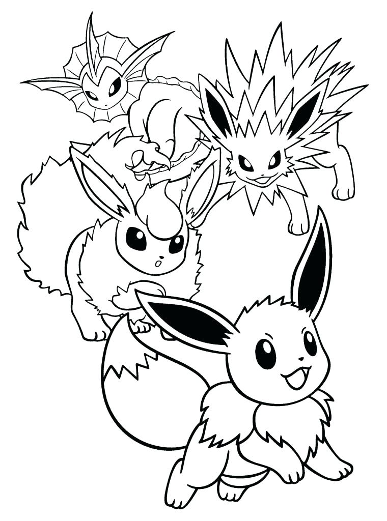 760x1024 Leafeon Coloring Pages Coloring Sheets Perfect Ninja Printable