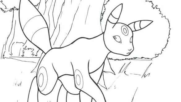 585x329 Leafeon Coloring Pages Com Leafeon Coloring Pages