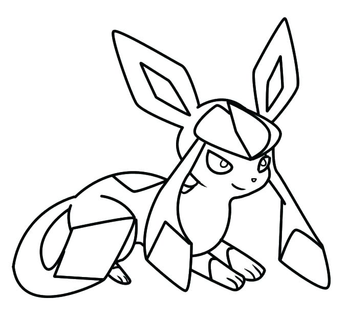 678x623 Leafeon Coloring Pages Ex A Pokemon Leafeon Coloring Pages