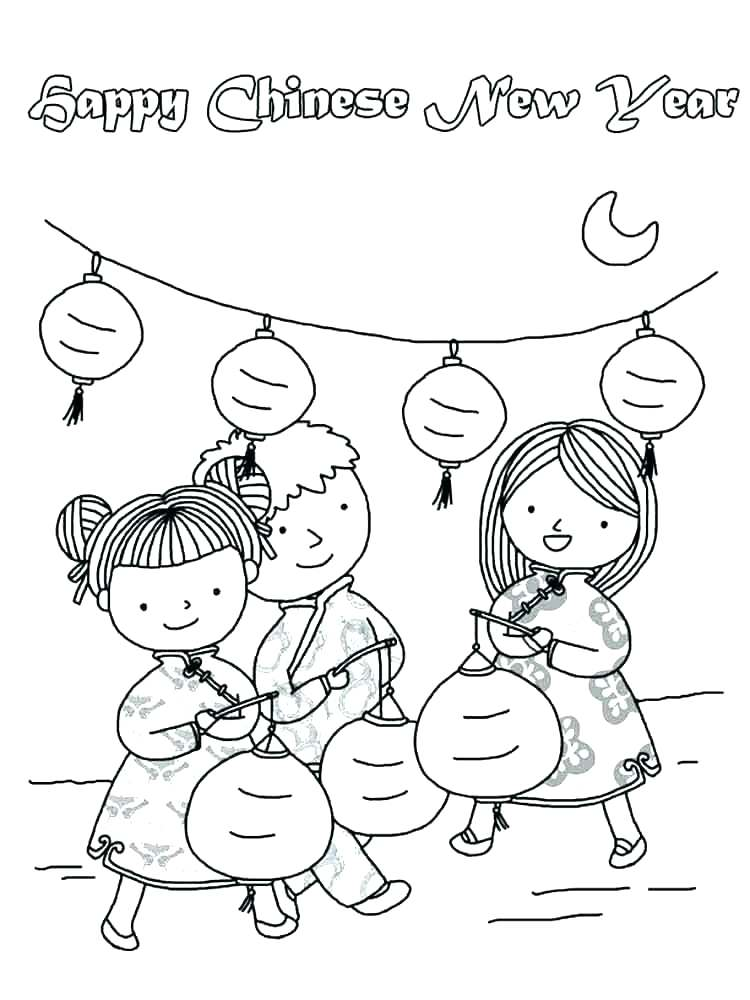 750x1000 Happy New Year Coloring Page Printable New Years Coloring Pages