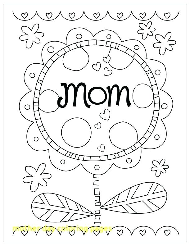 612x792 Mothers Day Coloring Pages Mother Day Coloring Pages With Mother S