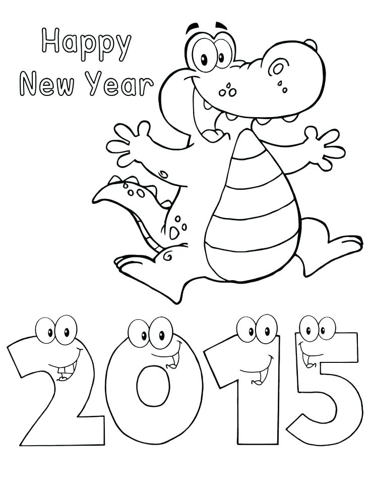 736x951 Printable Happy New Year Fireworks Coloring Pages Printable