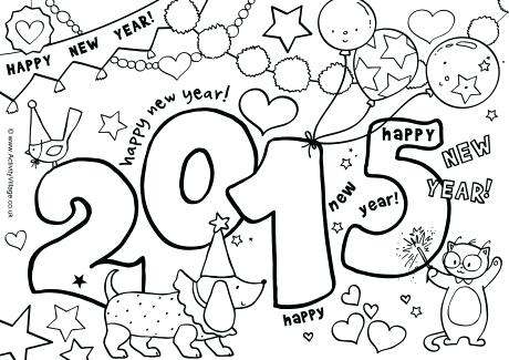 460x325 Happy Chinese New Year Colouring Pages Kids Coloring New Years Day
