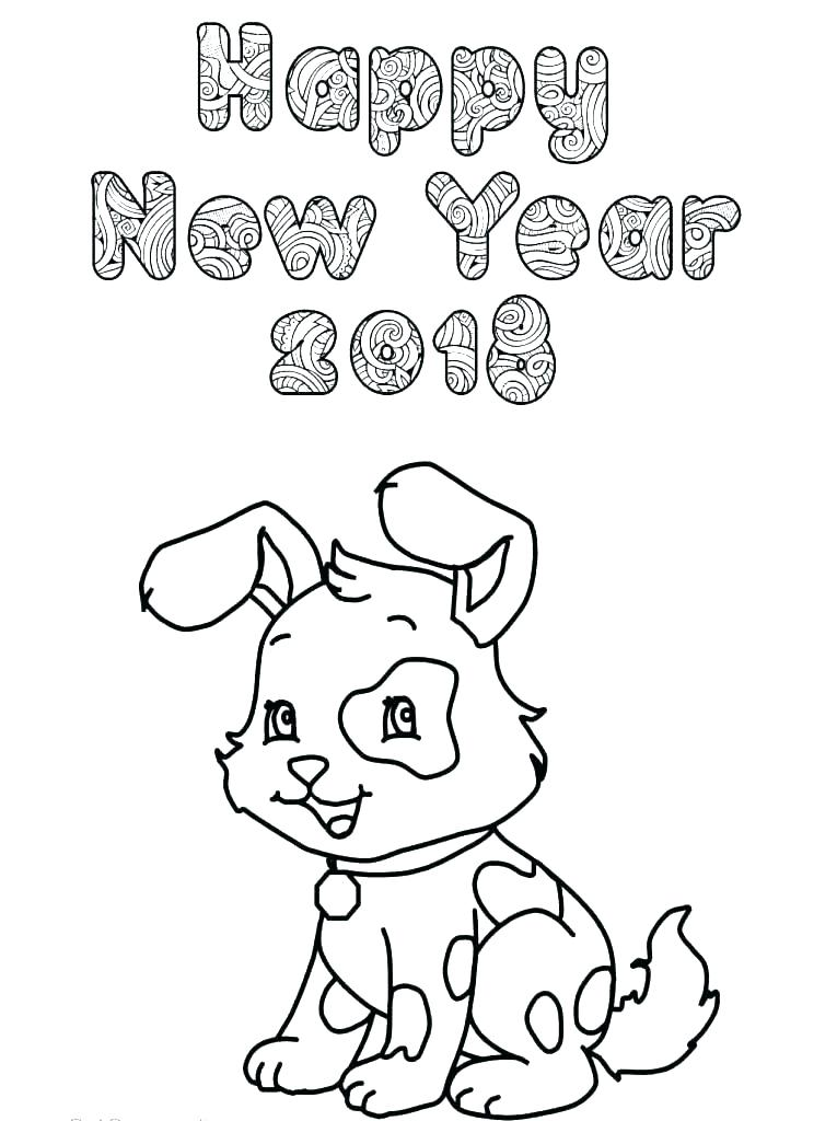 765x1024 New Year Coloring Page New Year Coloring New Year Coloring Pages