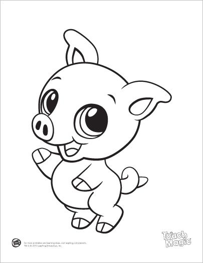 Leapfrog Coloring Pages