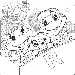 300x300 Leapfrog Alphabet Coloring Pages Fresh Leapfrog Alphabet Coloring
