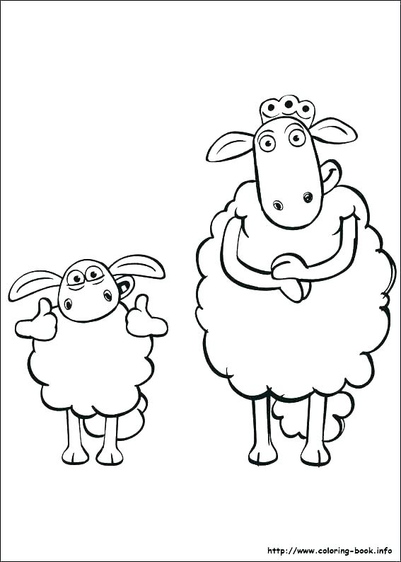 567x794 Sheep Coloring Pages Baby Sheep Coloring Pages Coloring Page