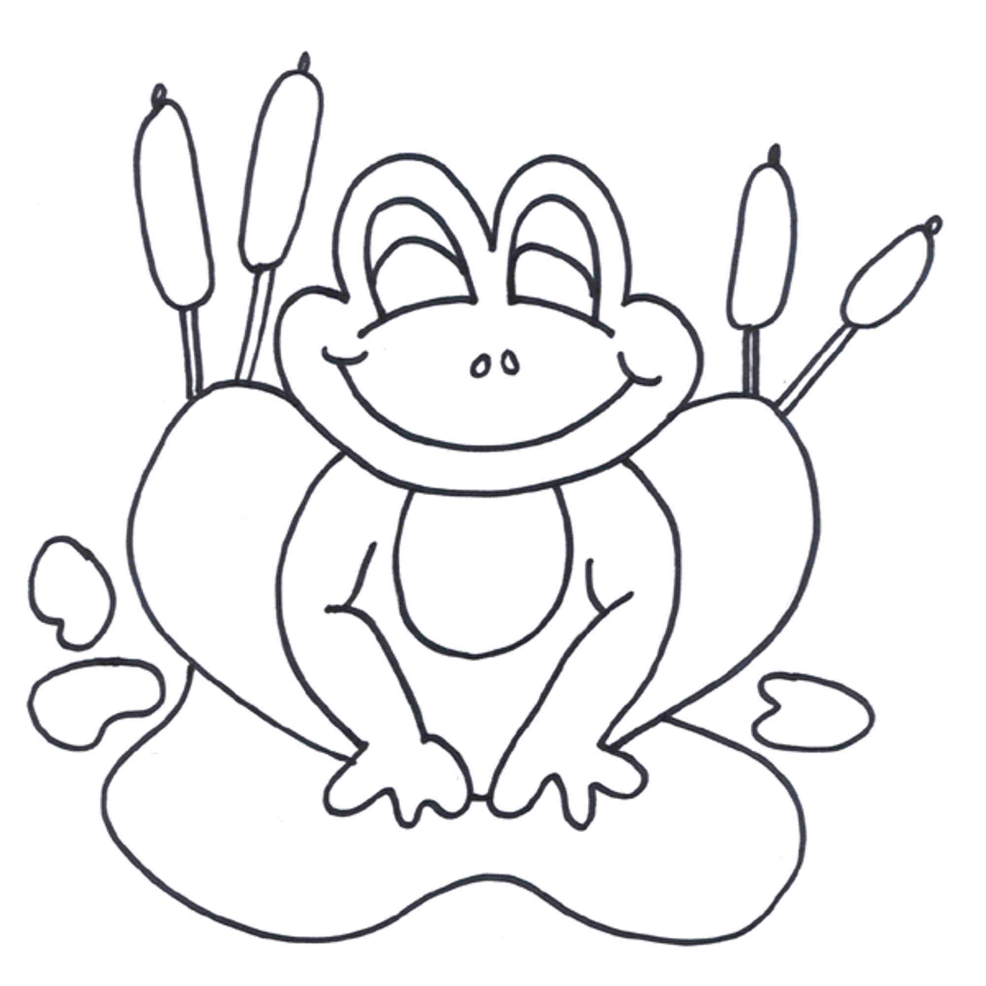 2000x2000 Leap Frog Coloring Pages