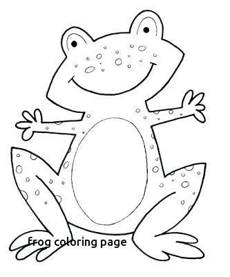 333x400 Frog Coloring Page Printable Frog Coloring Pages Colouring