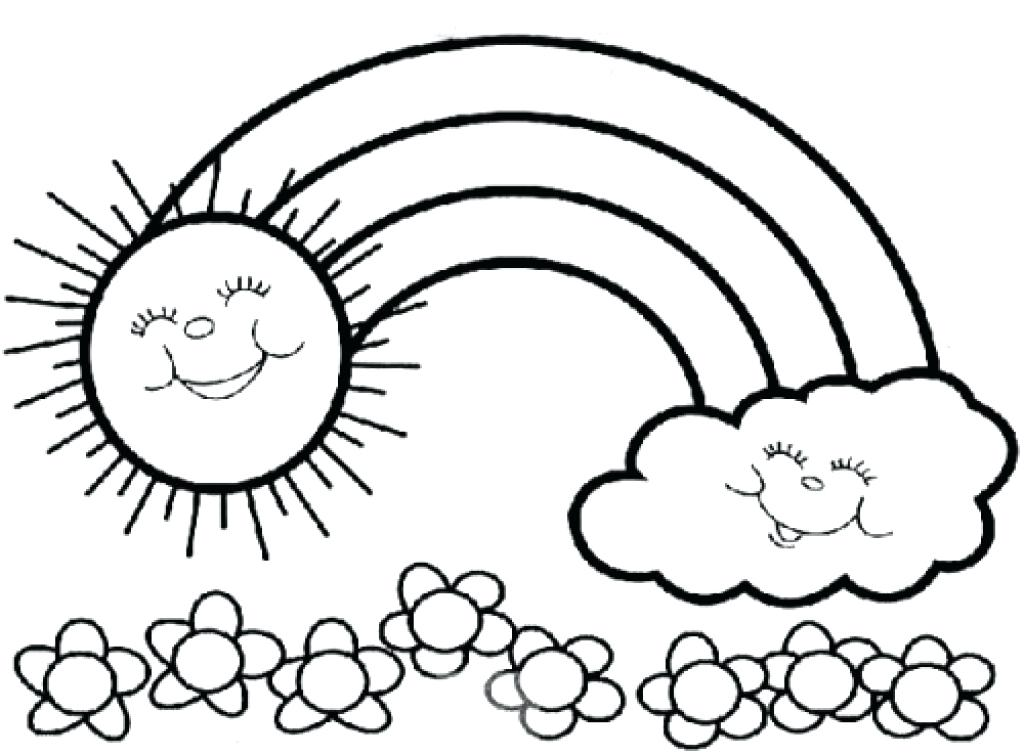 1024x755 Coloring Pages For Kindergarten