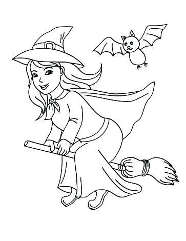 363x470 Halloween Coloring Pages For Toddlers Kindergarten Coloring Pages