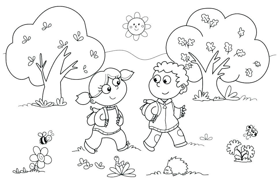 970x639 Kindergarten Color Pages Chaihuthuytinhcom Kindergarten Color