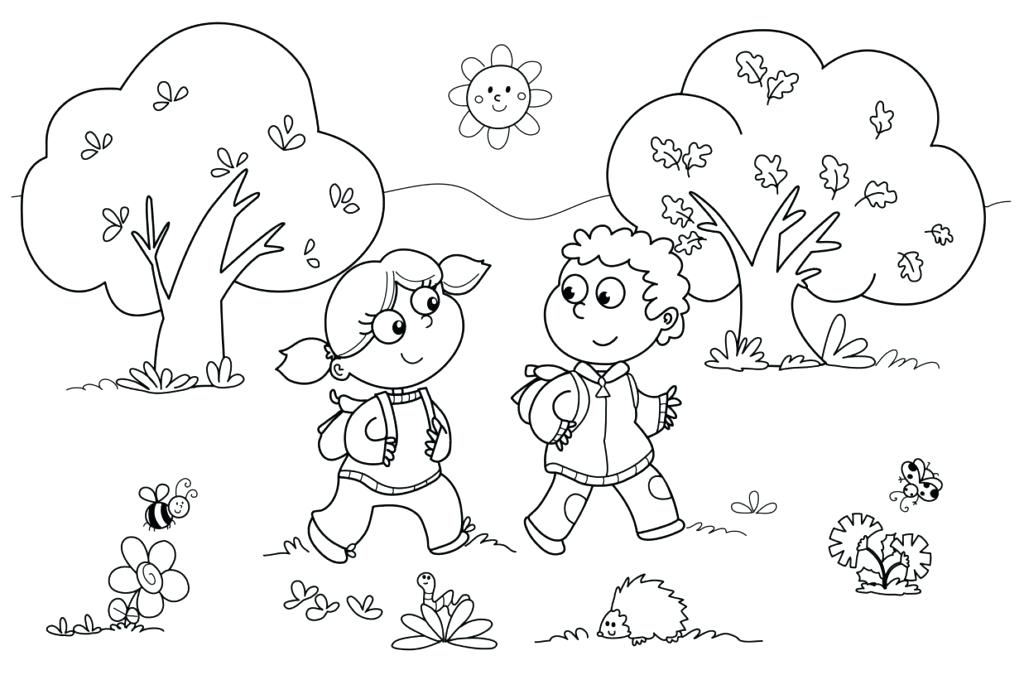 1024x675 Coloring Pages Kindergarten Coloring Pages For Kindergarten
