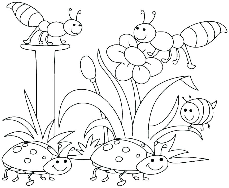 878x720 Coloring Pages Kindergarten Kindergarten Coloring Pages Free