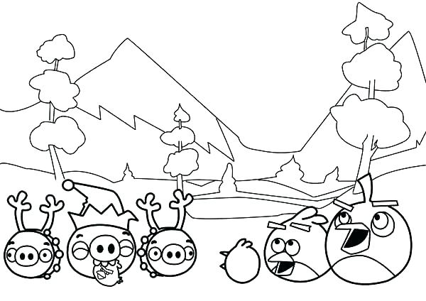 600x424 Angry Birds Coloring Pages For Learning Colors Angry Birds