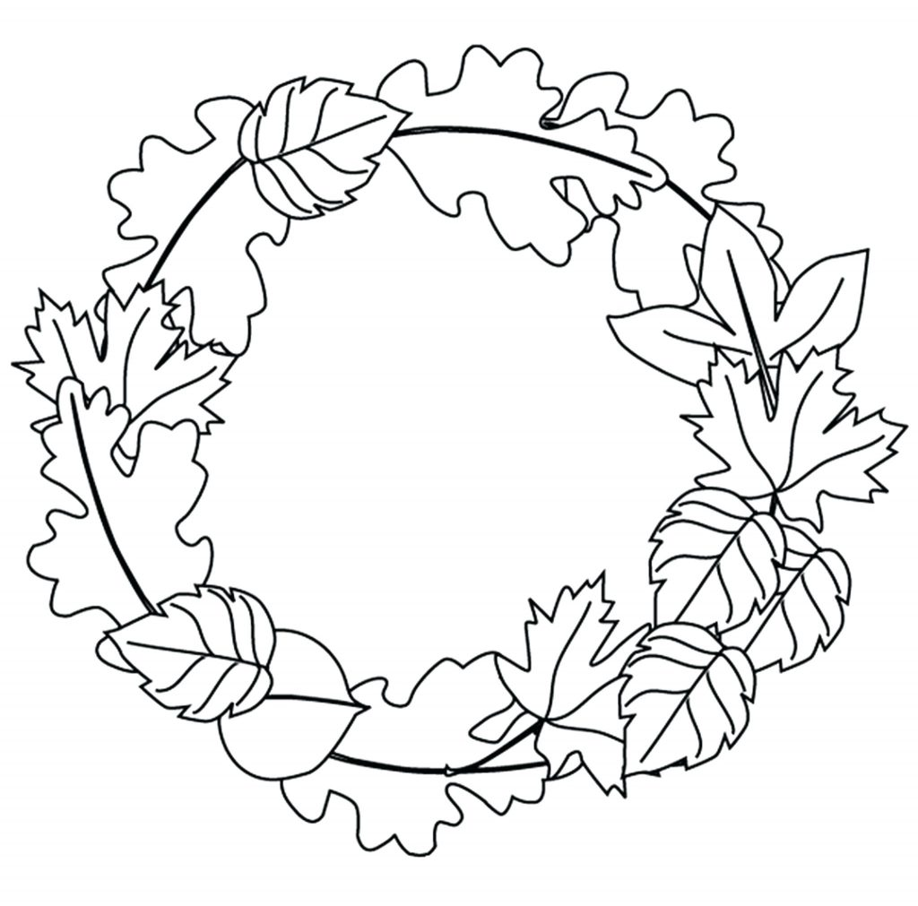 1024x1011 Fall Leaf Coloring Pages